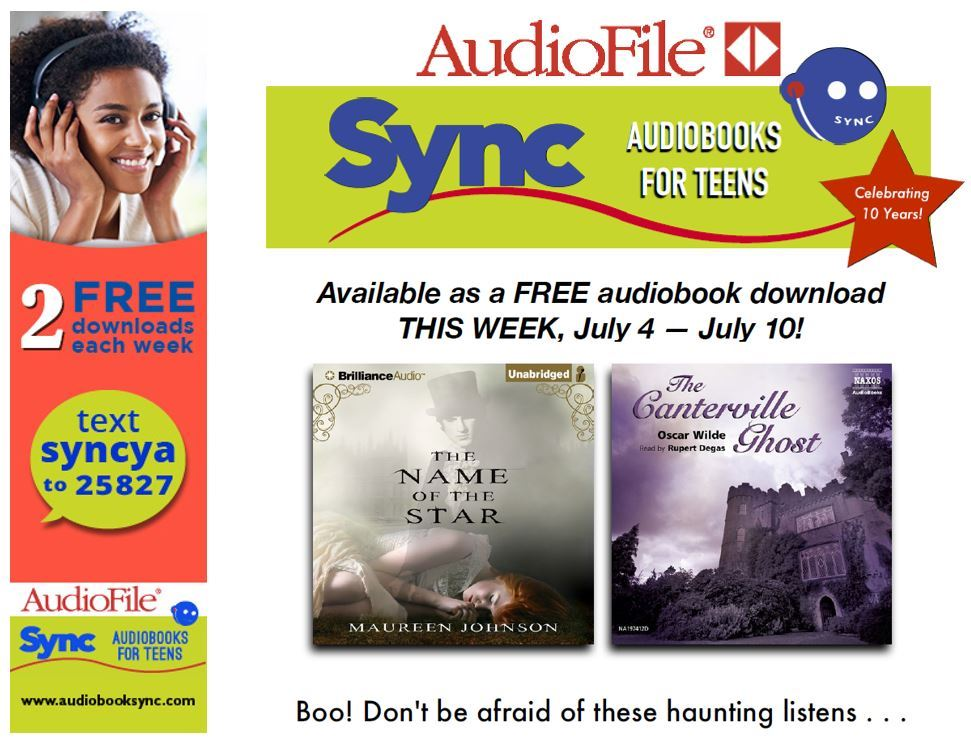 Image of SYNC Free Audiobooks July 4-July 10 Flyer