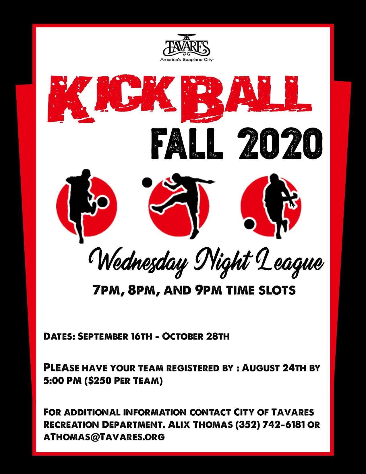 Photo of Kickball Flyer