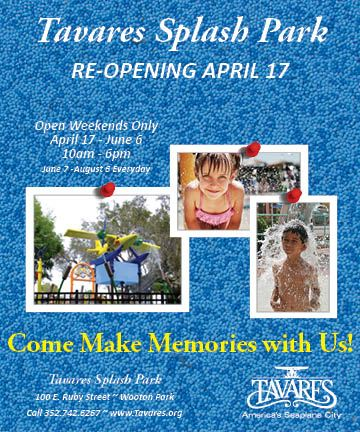 2021 Reopening Tavares Splash Park April 17 2021